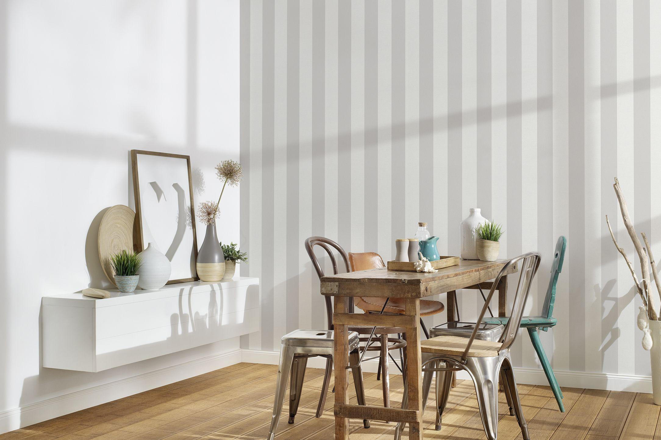 Streifen-Tapete-Küche-AS314031