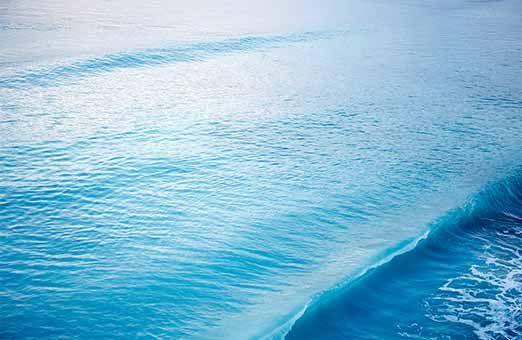 Glasklares Wasser Fototapete Meer