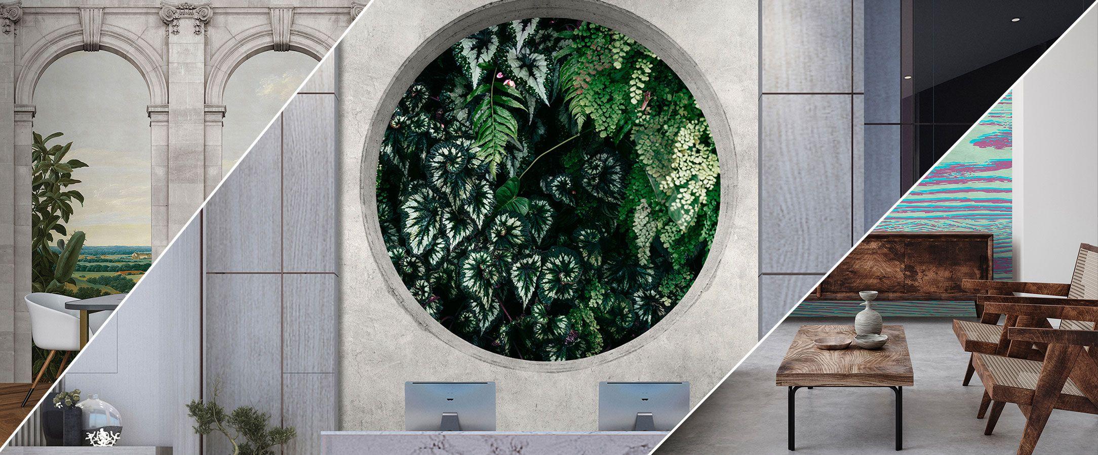 3D Fototapeten realistische Motive für Räume