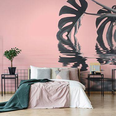 Pastell Tapete für das Schlafzimmer DD119781