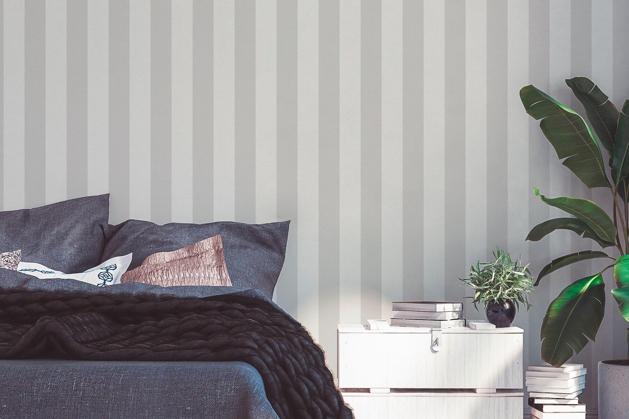 Schlafzimmer-Tapete-Streifen-AS314031