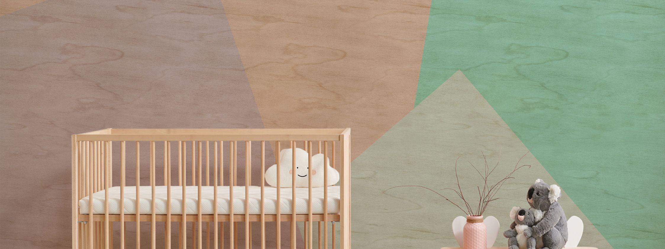 Kinderzimmer Tapete Berge